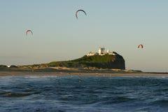 Het Strand van Nobby - Newcastle Royalty-vrije Stock Afbeeldingen