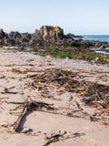 Het strand van Noord-Ierland Stock Foto
