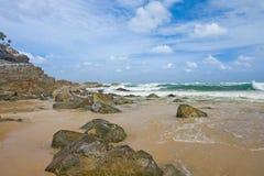 Het strand van Noosa, Australië Stock Afbeelding