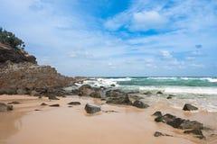 Het strand van Noosa, Australië Stock Fotografie