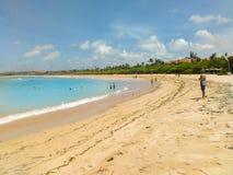Het strand van Nusadua stock afbeelding