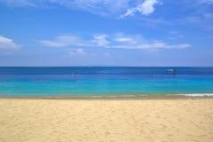 Het strand van Nusadua in het eiland van Bali Royalty-vrije Stock Fotografie