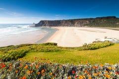 Het strand van Odeceixe Royalty-vrije Stock Foto