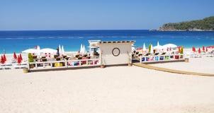 Het strand van Oludeniz in Turkije Royalty-vrije Stock Foto's