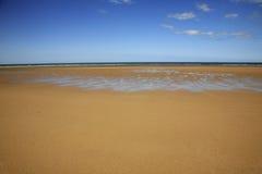Het Strand van Omaha van de D-dag van WO.II Royalty-vrije Stock Afbeelding