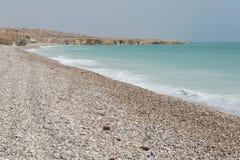 Het strand van Oman royalty-vrije stock foto's