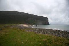 Het strand van Orkney Stock Foto