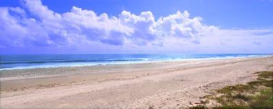 Het Strand van Ormond - Florida Royalty-vrije Stock Foto's