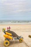 Het strand van Ossoda Baleia in Pombal, Portugal Royalty-vrije Stock Fotografie