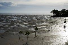 Het strand van Ouano Stock Foto's