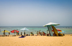 Het Strand van Padangpadang, Bali Royalty-vrije Stock Afbeeldingen