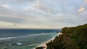 Het Strand van Padangpadang in de Wereldreis van Bali Indonesië royalty-vrije stock fotografie