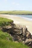 Het strand van Padstow royalty-vrije stock fotografie