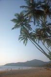 Het strand van Palolem, India. royalty-vrije stock foto