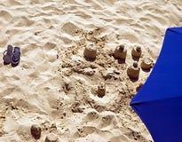 Het strand van Parijs Royalty-vrije Stock Afbeelding