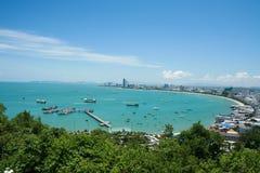 Het strand van Pattaya Royalty-vrije Stock Afbeelding