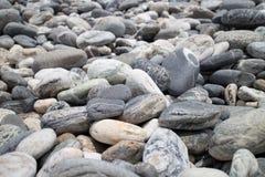 Het Strand van Pebbled Stock Afbeelding