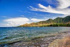 Het strand van Pemuteran royalty-vrije stock afbeelding