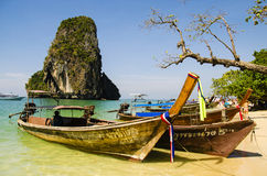 Het strand van Phra Nang van Railay Stock Fotografie