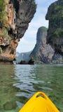 Het Strand van Phranang, Krabi, Thailand stock foto's