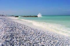 Het strand van Pisa Stock Afbeelding
