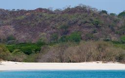 Het Strand van Playaconchal in Costa Rica Stock Fotografie