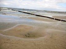 Het Strand van Polen ziet Stock Foto's