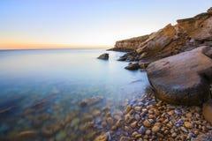 Het strand van Praiada luz Stock Foto