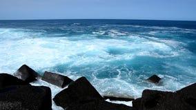 Het strand van Puerto de la Cruz, Tenerife Royalty-vrije Stock Afbeelding