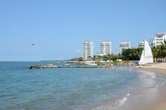 Het strand van Puertovallarta Royalty-vrije Stock Fotografie