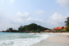 Het strand van Pulau redand Royalty-vrije Stock Foto's