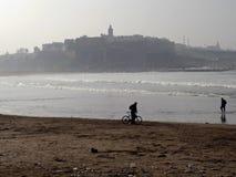 Het Strand van Rabat, Marokko Royalty-vrije Stock Afbeeldingen
