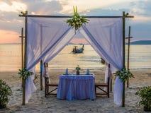Het strand van Railay in Krabi Thailand royalty-vrije stock foto