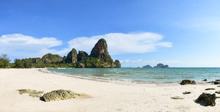 Het Strand van Railay in Thailand Stock Foto