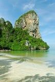 Het strand van Railay, Thailand Stock Foto