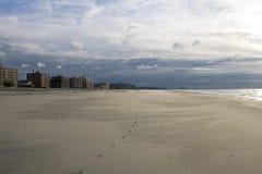 Het Strand van Rockaway. New York. Koninginnen. stock afbeelding