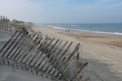 Het Strand van Rodanthe Stock Afbeeldingen