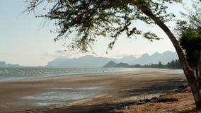 Het Strand van SAM Roi Yot Stock Afbeelding