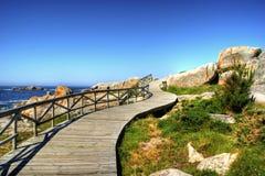 Het strand van San Vicente Stock Foto's