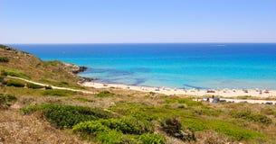 Het Strand van Sardinige stock foto's