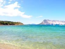 Het strand van Sardinige Stock Fotografie