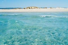 Het strand van Sardinige Stock Afbeelding