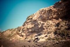 Het strand van Sardinige Lubagnu Stock Foto's