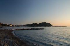 Het Strand van Sestri Levante Royalty-vrije Stock Afbeeldingen