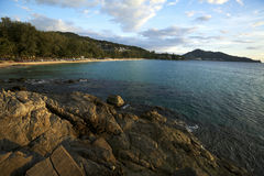 Het strand van Surin Stock Afbeelding