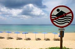 Het strand van Surin phuket Stock Afbeeldingen