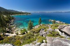 Het strand van Tahoe van het meer royalty-vrije stock foto