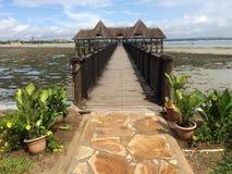 Het strand van Tanzania Stock Afbeeldingen