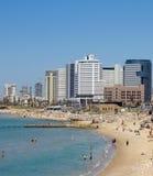 Het strand van Tel Aviv Stock Fotografie