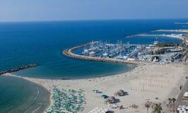 Het strand van Tel Aviv Royalty-vrije Stock Fotografie